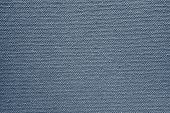 Texture Of Rough Fabric Silvery Blue Color