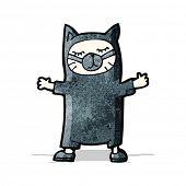 funny cartoon cat costume