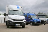Iveco Vehicles at FinnMETKO 2014