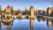 Ponts Couverts In Strasbourg