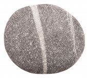stock photo of dapple-grey  - sea stone isolated on a white background - JPG