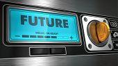 Future on Display of Vending Machine.
