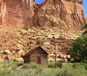 Fruita Schoolhouse Capitol Reef National Park