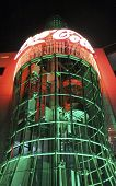Las Vegas Coca Cola Store By Night