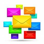 Color envelopes.