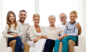 stock photo of grandparent child  - family - JPG