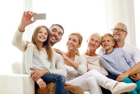 pic of selfie  - family - JPG