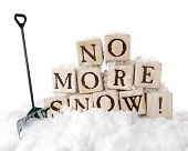 foto of snow shovel  - Large - JPG