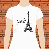 foto of memento  - Casual White Woman Shirt Template - JPG