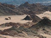 Landscape of a desert