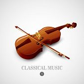 picture of string instrument  - Violin - JPG
