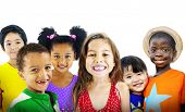 picture of diversity  - Children Kids Diversity Friendship Happiness Cheerful Concept - JPG
