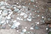 stock photo of crystal glass  - shards of glass for backgrounds and overlays - JPG