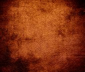 picture of alloys  - Grunge background of alloy orange leather texture for design - JPG