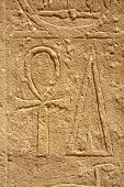 foto of ankh  - ankh sign ancient Egyptian bas - JPG