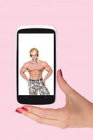 picture of flirt  - Online dating - JPG