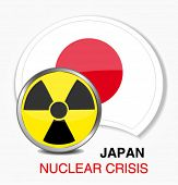 japanese nuclear crisis illustration