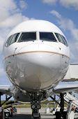Nose of a plane