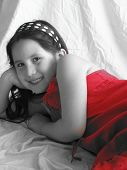 Young Girl In Red