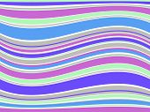 Illustration of abstract colorful lines.