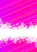 picture of colorful banner  - Abstract background with snowflakes - JPG