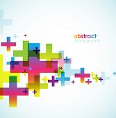 Colored abstract background.