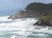 Panorama: Heceta Head Lighthouse