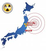 pic of fukushima  - Vector  - JPG