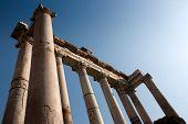 Roman Saturn Temple, Forum Romanum