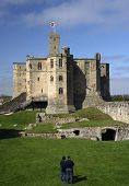 Warkworth, Castle