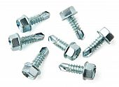 Group Of Screws For Metal