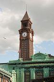 Torre del reloj terminal Hoboken