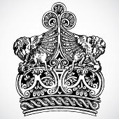 Vector Crown Ornament