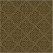 Repeating vector tile pattern. Seamless swatch is included.