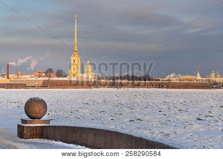 Peter And Paul Fortress In