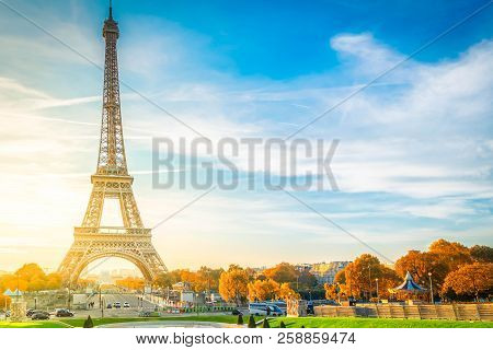 View Of Eiffel Tower With