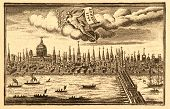 London City View, Dated 1744.