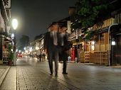 Businessmen In Gion