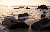 Swansea Coastline Sunrise