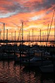 Marina At Sunrise