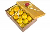 Oranges In Luxury Give Box
