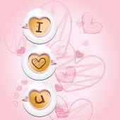 coffee - I love u