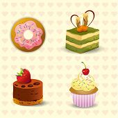 donut & cake icon