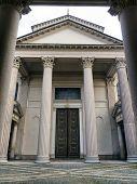 Neoclassical Architecture In Novara