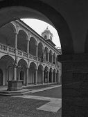 Broletto Cloister