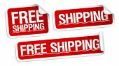 Free shipping stickers set.