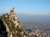 Guaita Castle In San Marino