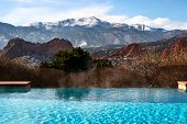 Pool With Mountain View