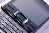 Modern Mobile Phone In Close-Up