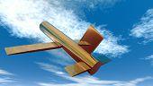 Brass Plane 1
